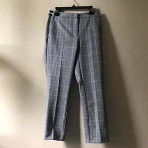 Zara Plaid Trouser Pants